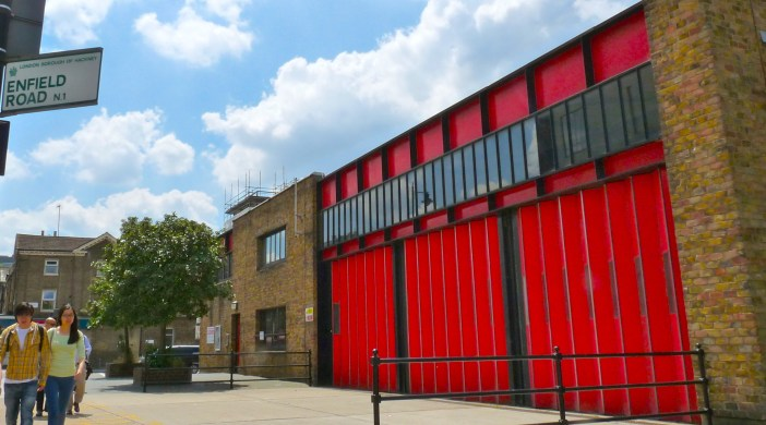 Hackney New School Downham Road, De Beauvoir N1 5AA , and (in some pix) the decommissioned fire station at ingsland Road fire station, 333 Kingsland Road, Haggerston E8 4DR 210614 © david.altheer@gmail.com