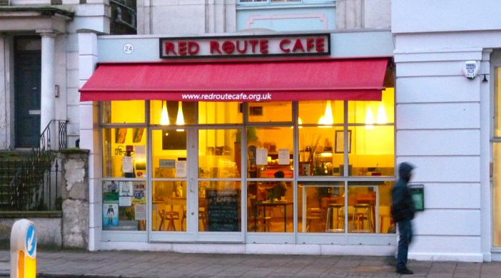 RedRouteB: Red Route Café 24 Lower Clapton Road E5 0PD Lon 210115 © DavidAltheer@gmail.com