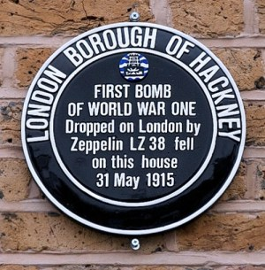 Hackney council plaque at 16 Alkham Road, Stoke Newington N16 7AA