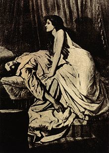 The Vampire, by Philip Burne-Jones, 1897 https://en.wikipedia.org/wiki/Vampire