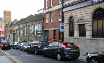 Parking on double lines in this central Dalston street after Loving Dalston pressed the council to take action