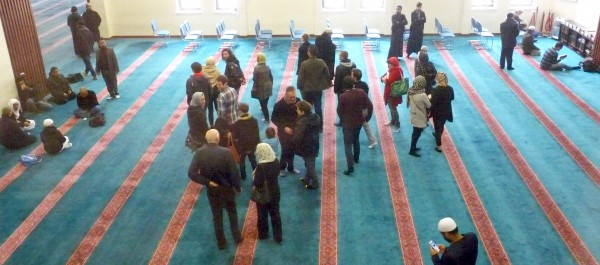 East London Mosque on Visit Your Mosque Day 070216 © david.altheer@gmail.com