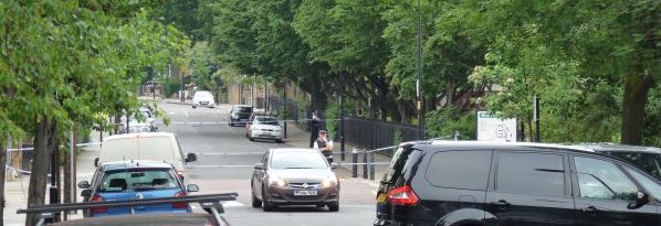 A man, 40s, collapsed early today Wed 080616 near the junction of Cecilia and Sandringham roads in Dalston Hackney Lon E8 2EP © DavidAltheer[at]gmail.com