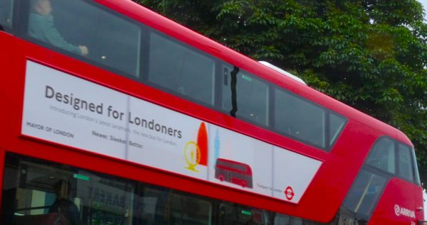 hos Heatherwick designed hop-on, hop-off bus @ Dalston Junction London E8 161013 © david.altheer@gmail.com