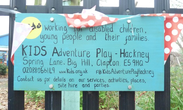 Kidsplay©DA: Kids Adventure playground Spring Lane Clapton fed up with robberies 090118 © David,Altheer@gmial,com