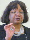 Abbott18a: MP Diane Abbott watches Yr 4 play at Northwold Primary School, Stoke Newington Hackney E5 8RN 020218 © david,altheer@gmail,com