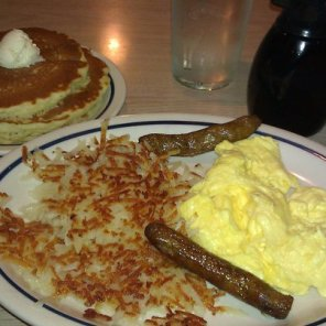 IHOP Pick-A-Pancake Combo with Pancakes