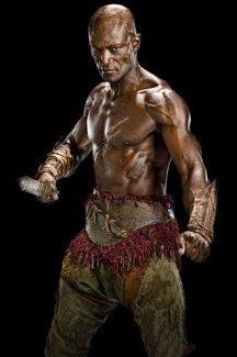 Oenomaus from Spartacus