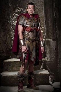 Gaius Claudius Glaber from Spartacus