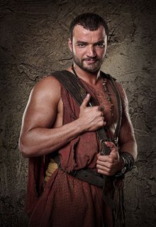 Ashur from Spartacus