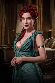 Gaia from Spartacus