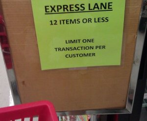 Express Checkout Lane