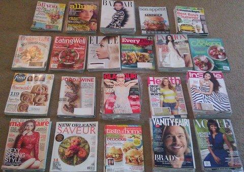 Food & Fashion Magazines