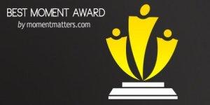 Best Moment Blog Award