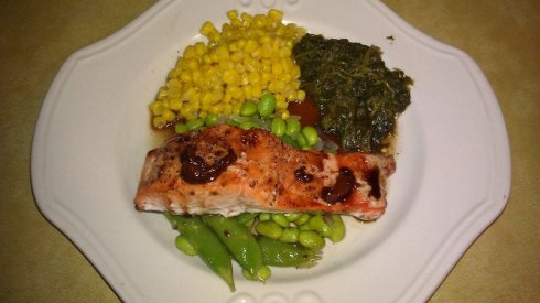 Balsamic-Glazed Salmon