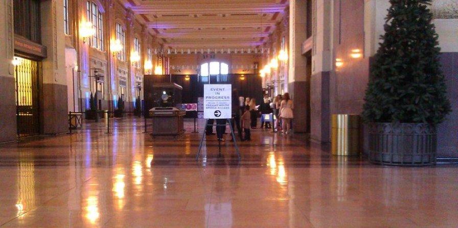 Fashion Show entrance