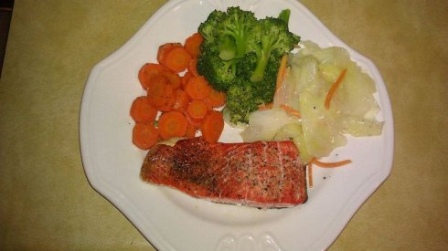 Salmon & Veggies
