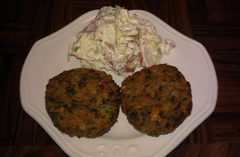 Veggie Cake Patties