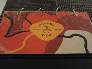 Orange Wok menu