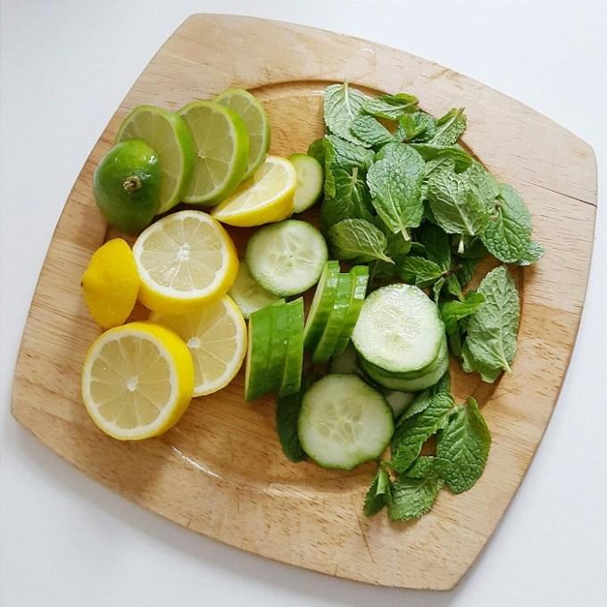 lemon mint detox
