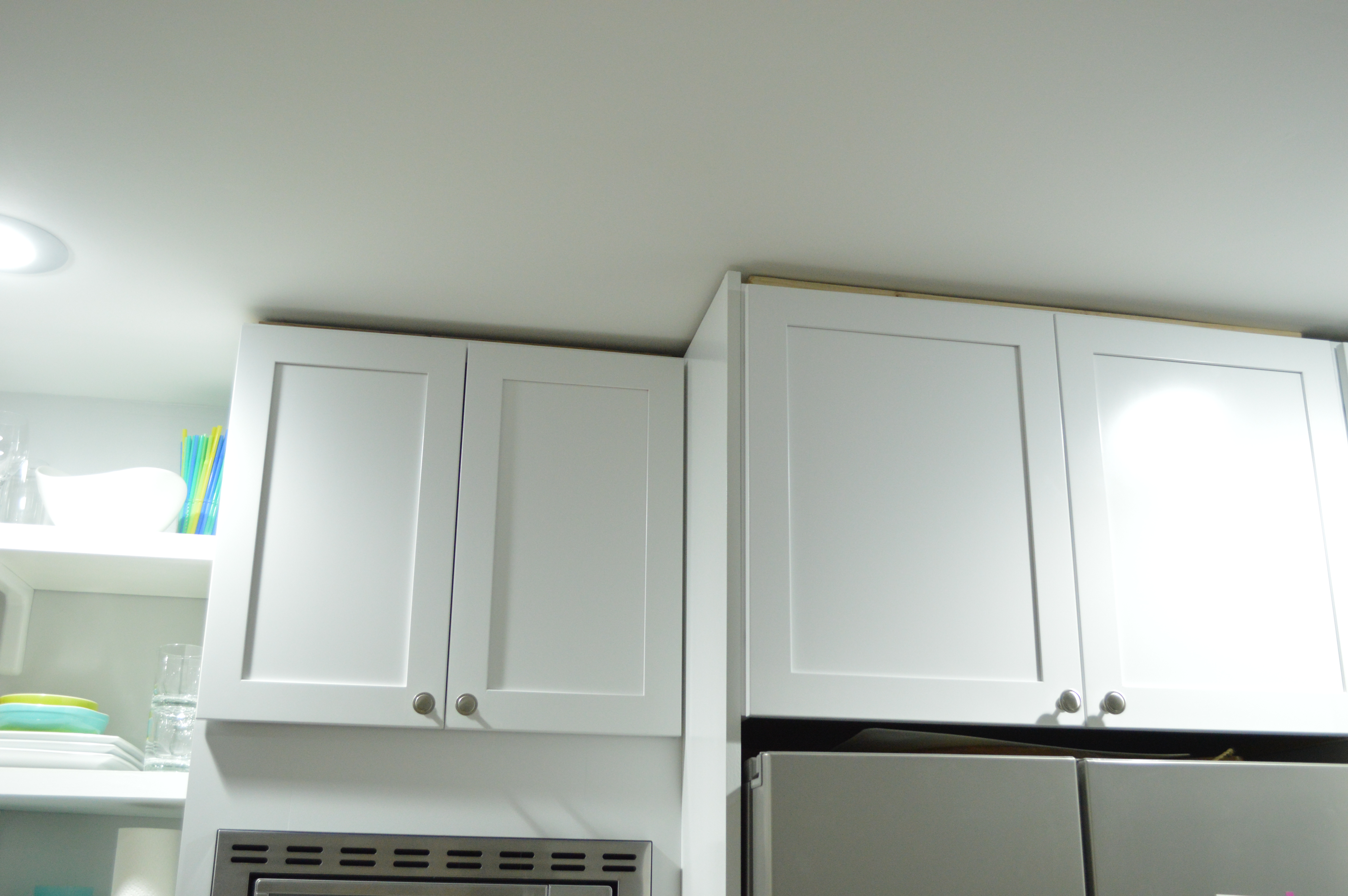 Hang Kitchen Cabinets Another Kitchen Project Done Loving Here