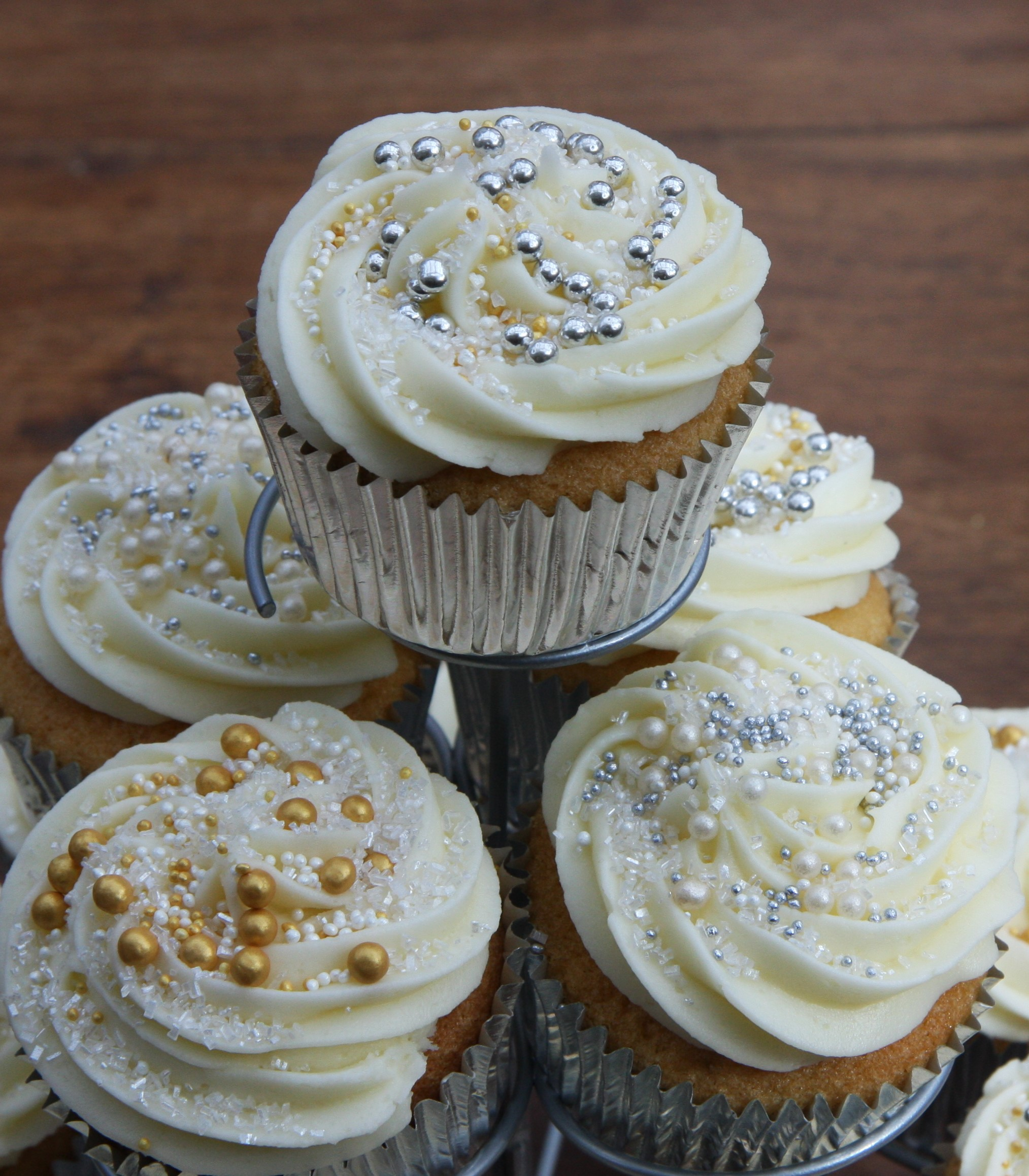 Caramel Filled Cupcakes Perfect For A Wedding