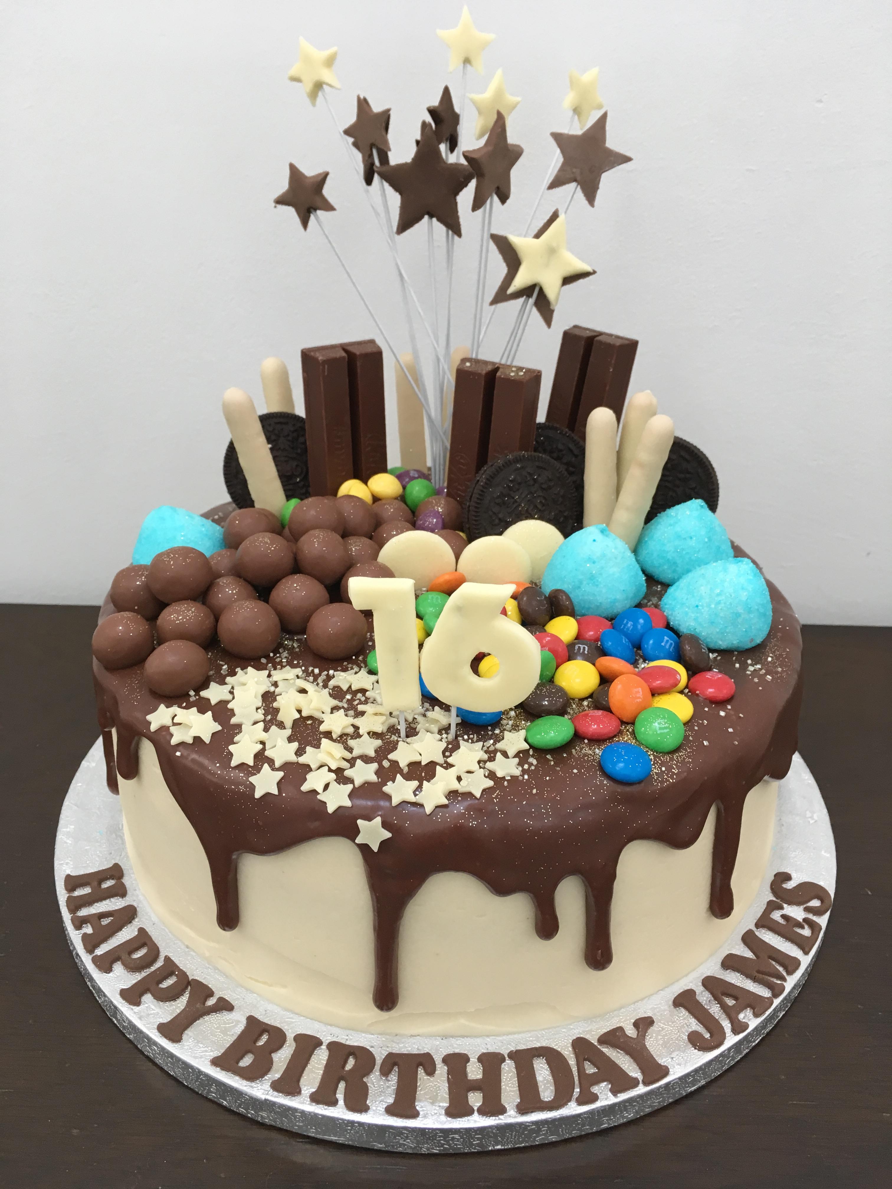 16th Drip Cake Lovinghomemade