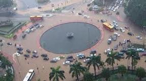 Lokasi Banjir di Jakarta