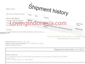 Amazon to Fowarder US to Indonesia - Jasa Pembayaran Pembelian Barang Amazon