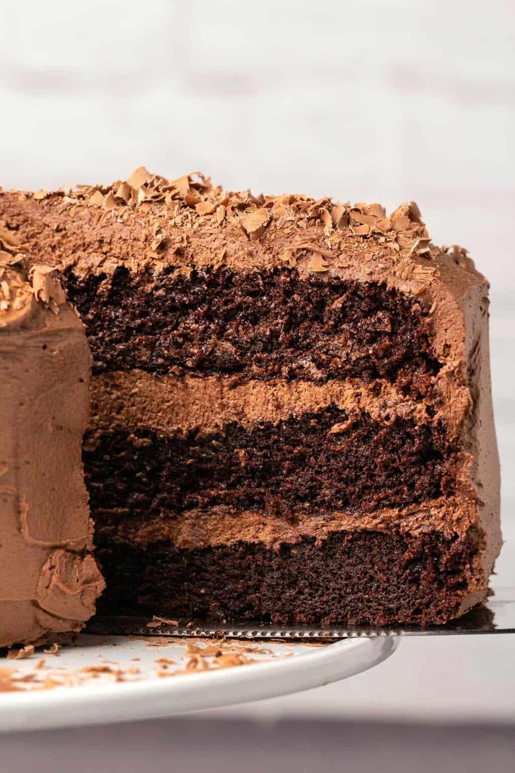 Dairy free chocolate cake