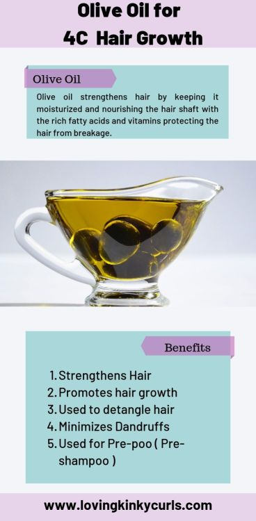 Is Olive Oil Good for 4C hair