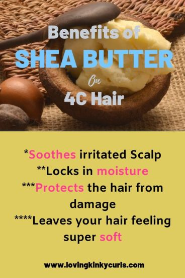 Benefits of Shea Butter on 4C Hair 2