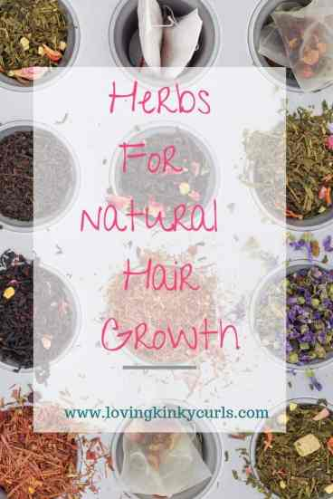 Herbs for Natural Hair Growth