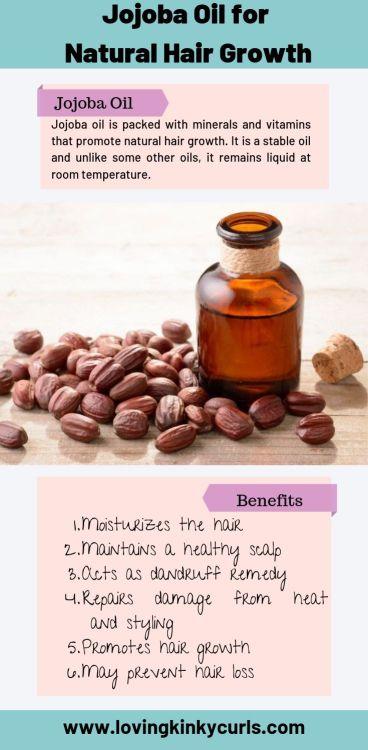 Jojoba Oil For Natural Hair Growth