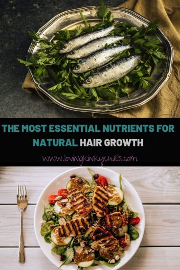 Essential nutrients for natural hair growth