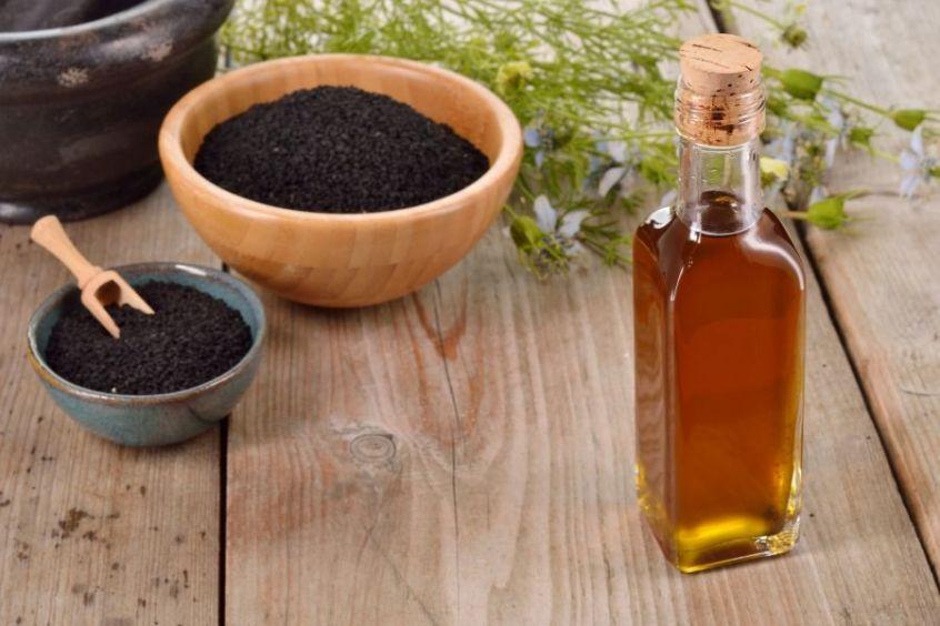 Black Cumin Nigella oil for natural hair growth