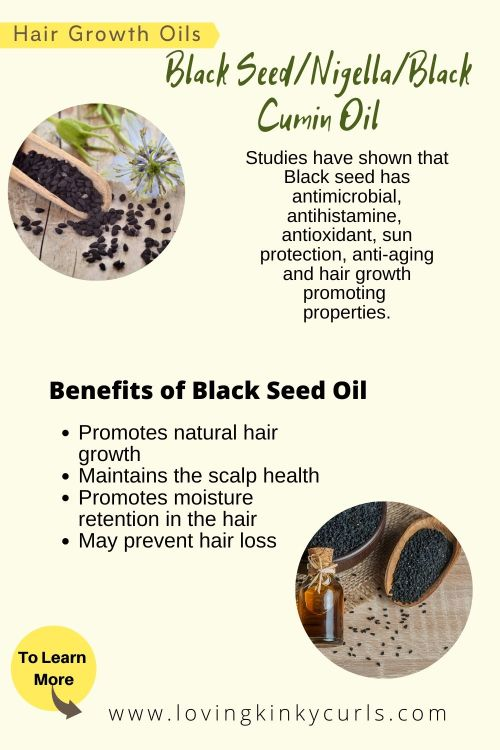 Nigella- Black seed oil for natural hair growth
