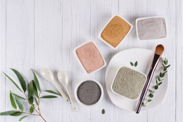 Clay masks for hair