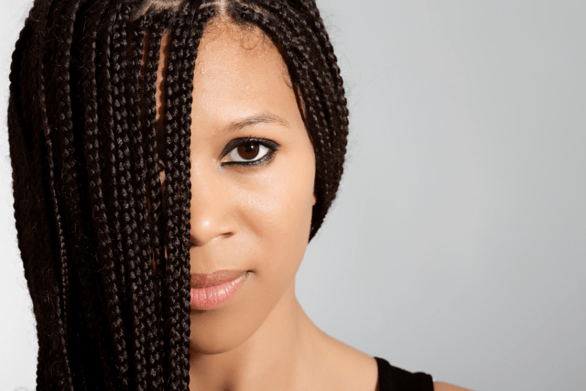 how to take care of natural hair in braids