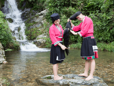 Yao women rice water recipe