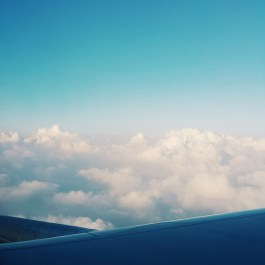 Up in the clouds once again. <3