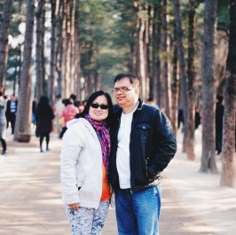 Mom and Dad feeling the Winter Sonata feels