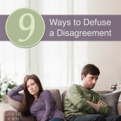 9 Ways to Defuse a Disagreement