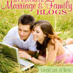 Want to nourish your marriage? You'll find a healthy dose of encouragement here: My Favorite Marriage & Family Blogs | lovinglifeathome.com