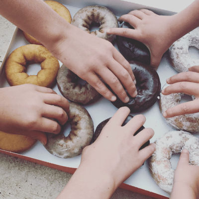 On Creme-Filled Donuts & Other Causes for Celebration