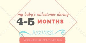 CJ's 4-5 Month Journey [Milestones Update]