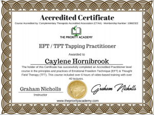 EFT TFT Tapping Practitioner