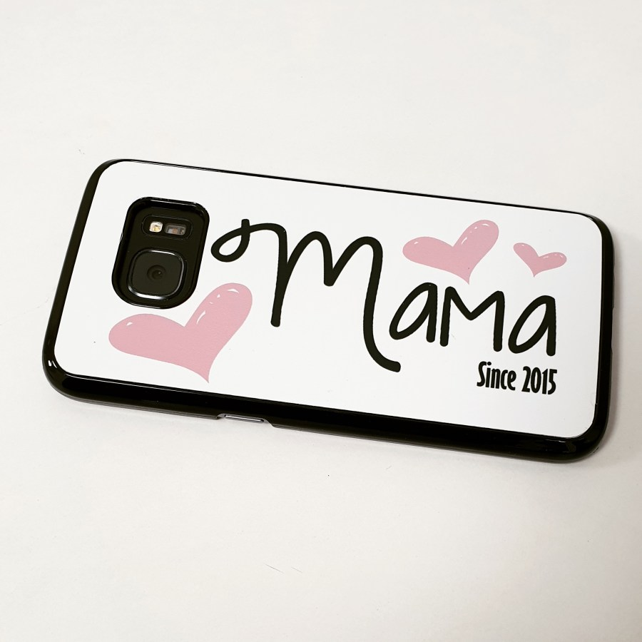 Personalised Mama Since Phone Case