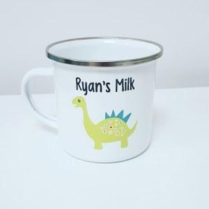Enamel Dino Mug