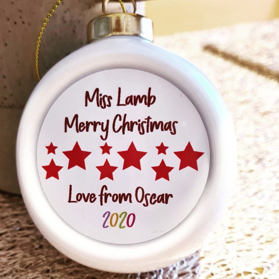 Personalised Christmas Bauble